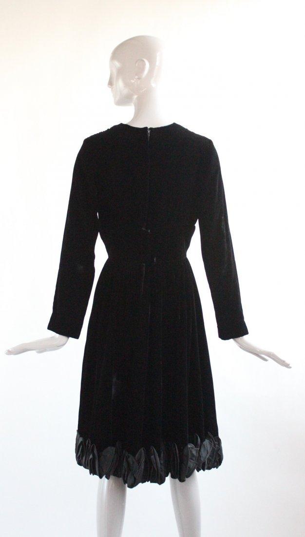 Romantica by Victor Costa Velvet Dress, 1960's - 2