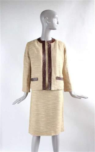 Samuel Robert Alligator Trim Suit, ca.1960s