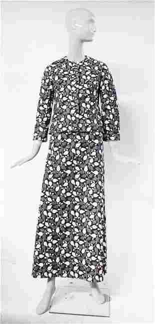 Saks Fifth Avenue Brocade Suit, ca.1960's