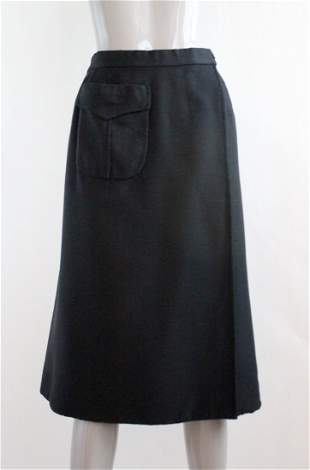 Mila Schon Due Black Skirt, ca. 1969