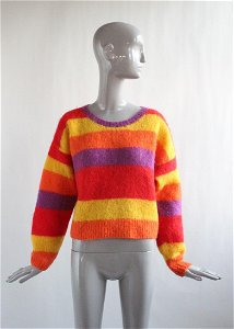 Stephen Sprouse Mohair Sweater, 1987