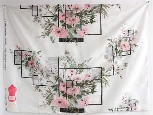 Schiaparelli Deauville Fabric Sample, 1950's