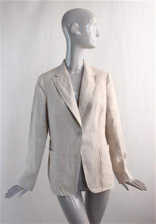 Max Mara Studio Linen Jacket 2000s