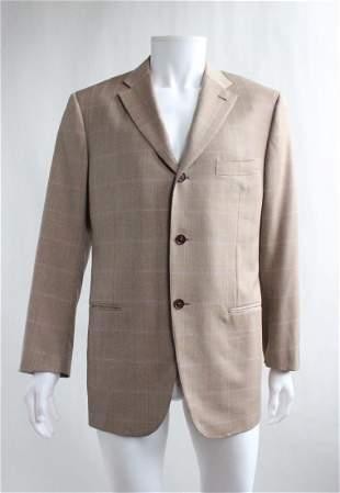 Isaia Napoli Hand Tailored Mens Jacket sz 52IT 2000s