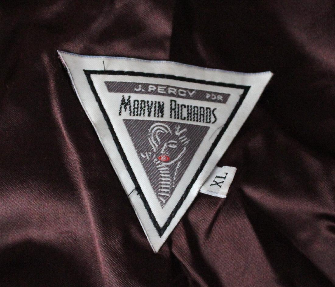 Marvin Richars Faux Leopard Fur Swing Coat, ca.1990's - 3