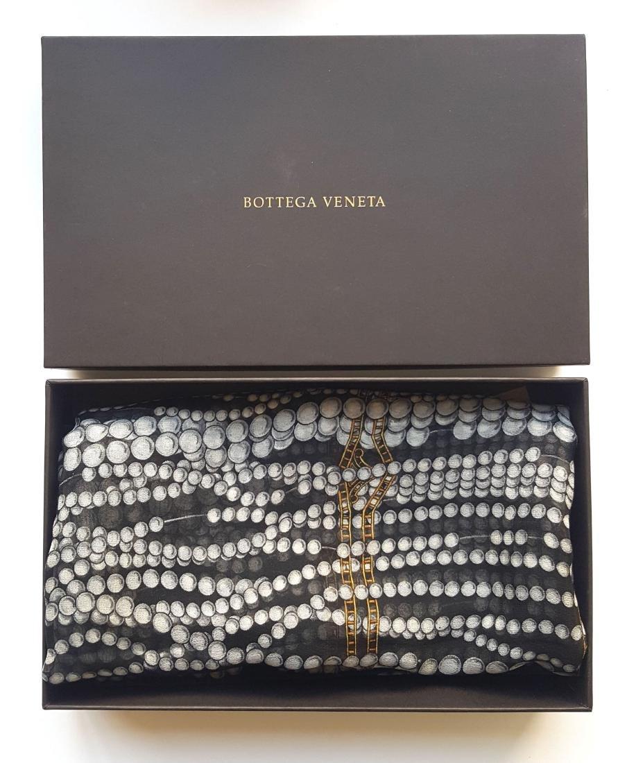 Bottega Veneta  Large Silk Scarf, ca.1990's
