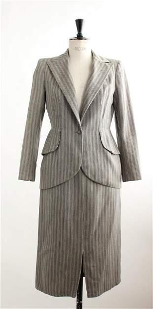 Greta Garbo Owned ? Gray Suit, ca.1940s-50s