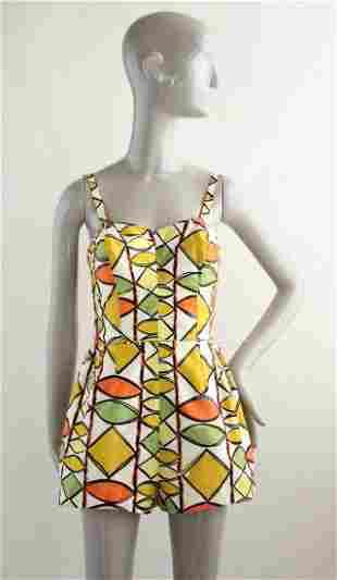 1950s Cotton Swimsuit