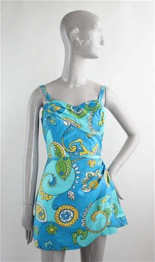 1960s Cotton Swimsuit