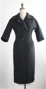 Christian Dior Haute Couture Y Line Dress F/W 1955