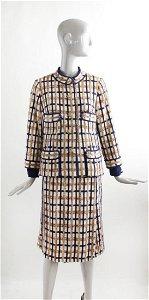 Chanel Copy by Davidow Tweed Suit, F/W 1967