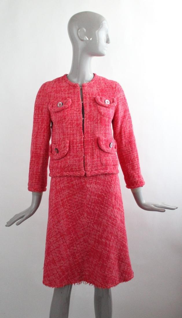 Marc Jacobs Pink Tweed suit, S/S 2004