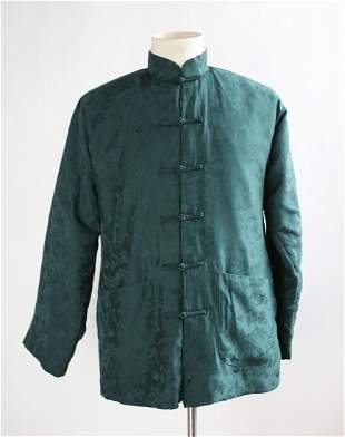 Chinese Silk Down Filled Jacket c1980s