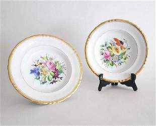 KPM Berlin Porcelain Hand Painted Plates ca18471849
