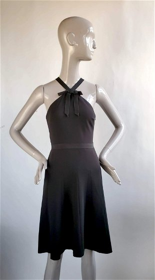 Buy Moschino Size 8 Fabulous Black Dress Made In Italy Jasper52 In Ny
