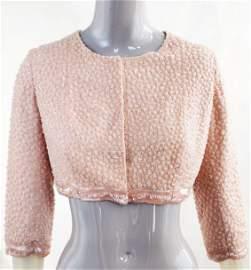 Balenciaga Haute Couture Beaded Jacket, 1964