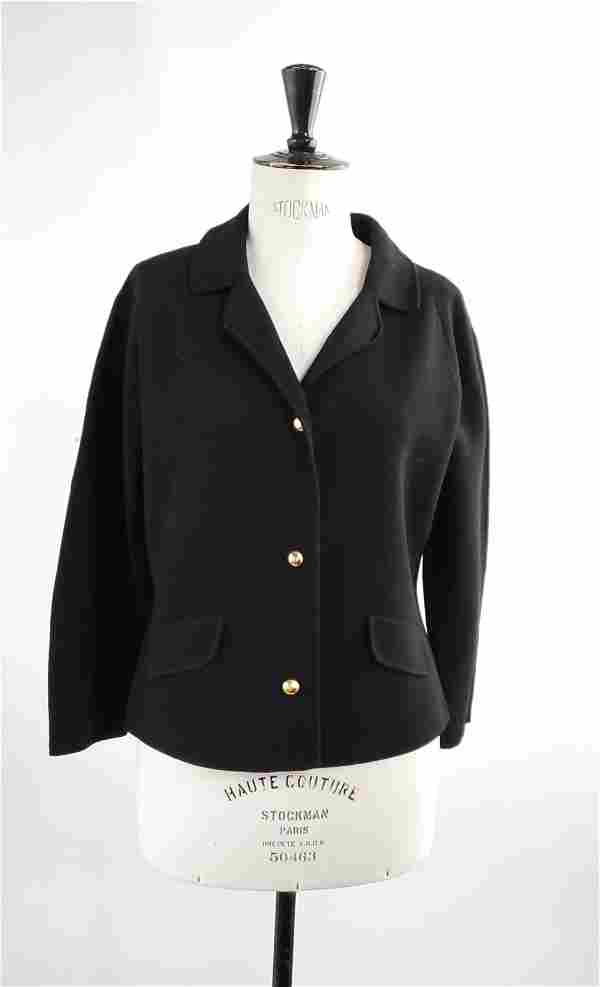 Peck & Peck New York Double Knit Wool Jacket, ca. 1960s