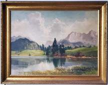 Hans Otto Kraus (1907-1995) Oil Painting