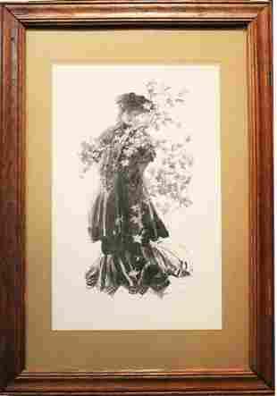 Henry Hutt Autumn Leaves Print ca1905
