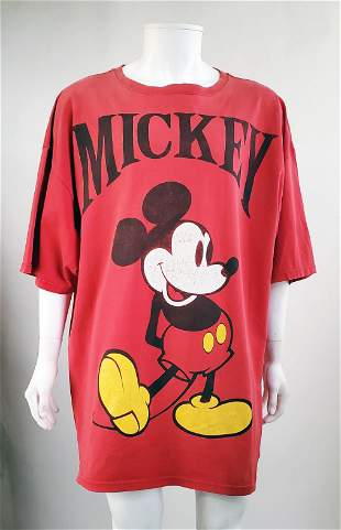 Mickey Inc. Mickey Mouse Oversized T-Shirt 1990s