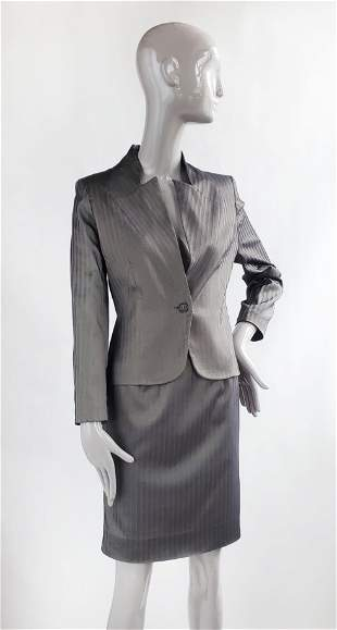 Givenchy by Alexander McQueen Silk Suit, F/W 1997
