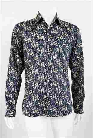 Liberty of London Floral Cotton Mens Shirt
