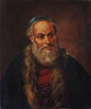M. Dumont Signed Orientalist Portrait