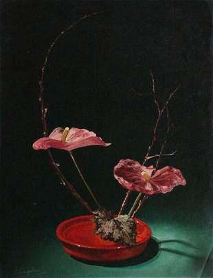 Salvatore Langella 'Still Life' Painting