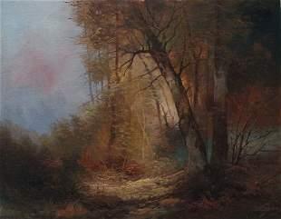 Josef Kugler (Austrian, 1913-?) 'Landscape'