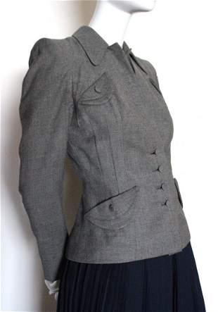 B. Altman & Co New York Grey Wool Jacket, c.1940's