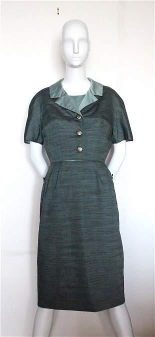 Adele Simpson Dress & Jacket Suit, c.1950's