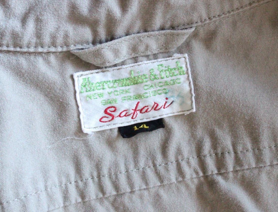 Abercrombie & Fitch Safari Jacket, late 1960's - 3