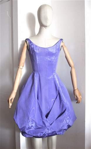 Gunther Jaeckel New York Moire Bubble Dress ,c.1959