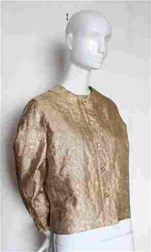 Christian Dior Colifichets Gold Brocade