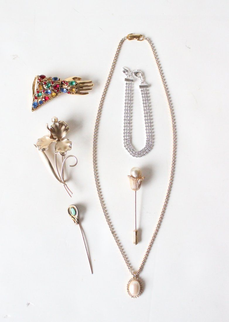 Vintage Designer Costume Jewelry Lot, incl. Monet