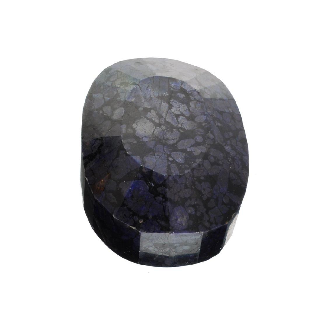 APP: 10.5k 3,490.00CT Oval Cut Blue Sapphire Gemstone