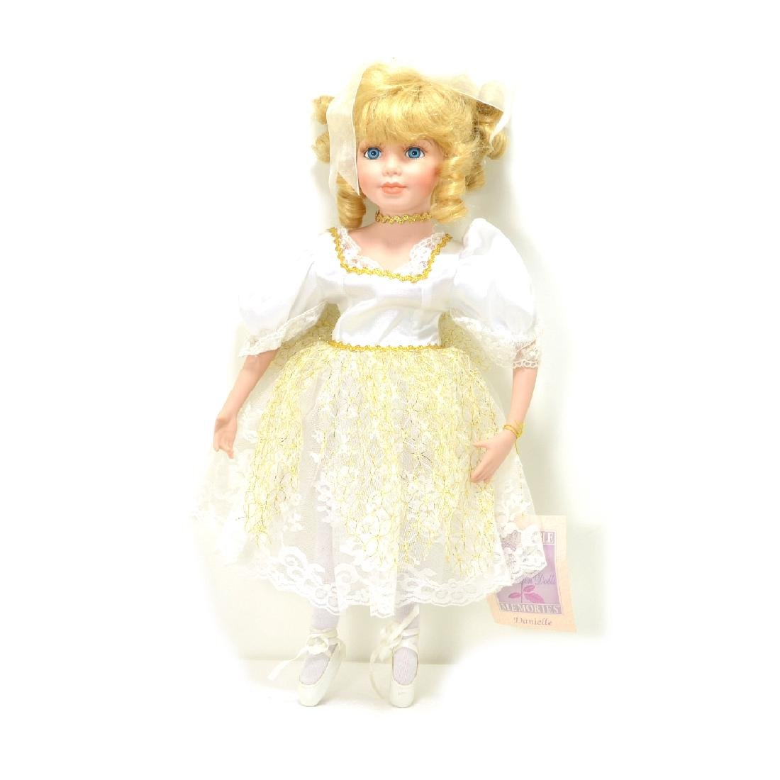 Rare Exquisite Porcelain Doll 16 Inches Tall