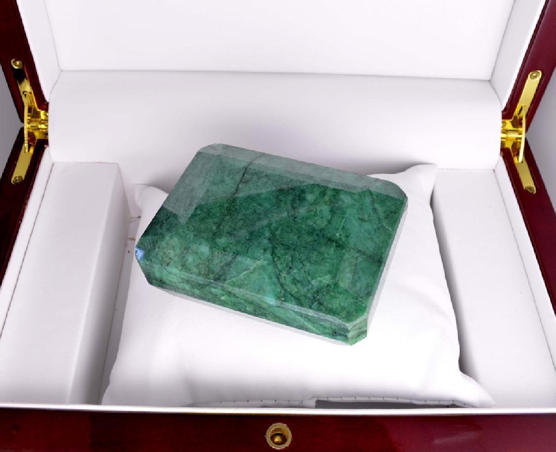 APP: 5.6k 1,121.50CT Emerald Cut Green Beryl Emerald