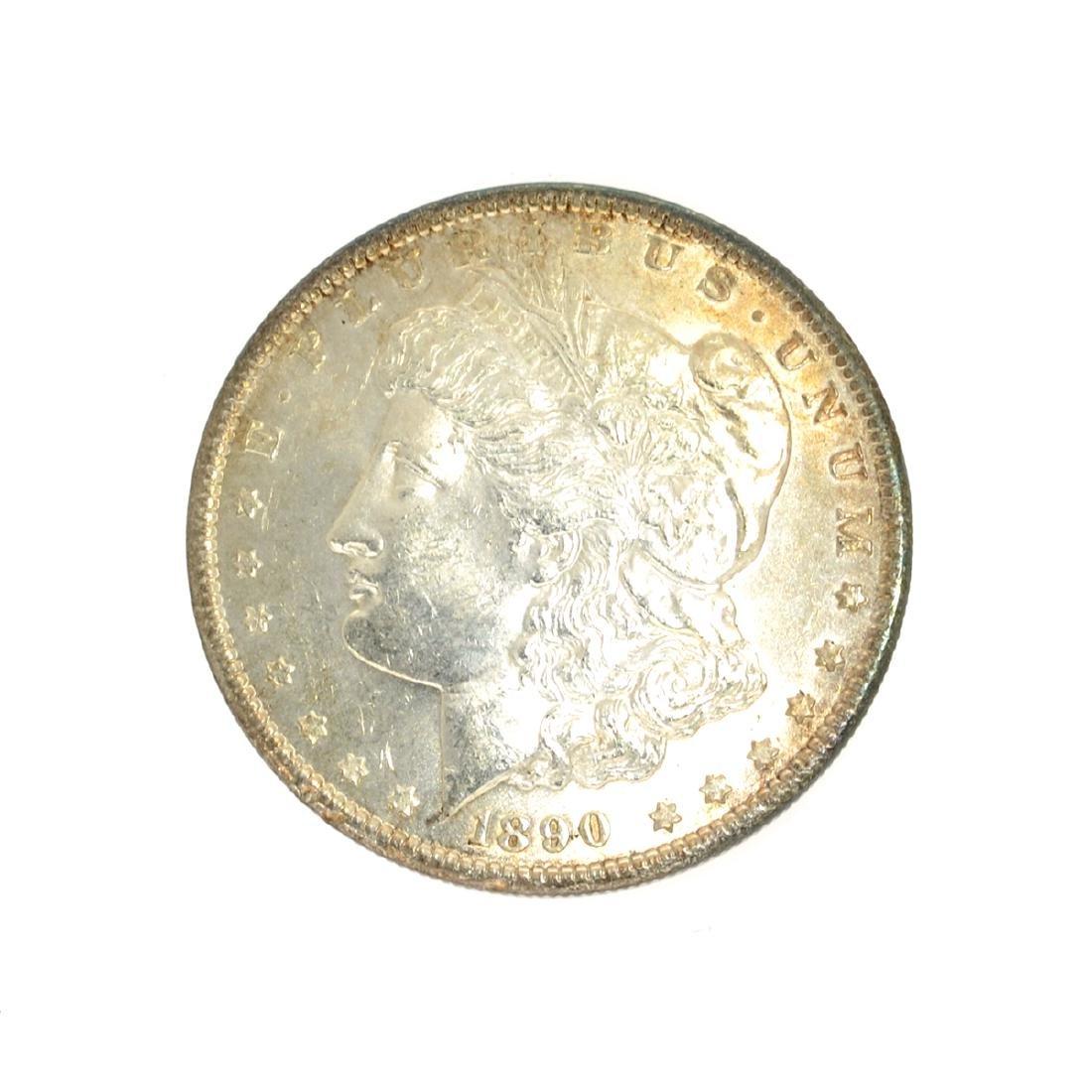 Rare 1890 Morgan Dollar Coin
