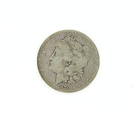 31: GOV: 1879-S Silver Dollar - Morgan, COLLECTABLE!!