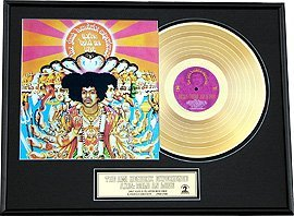 44: JIMI HENDRIX ''Are you Experienced'' Gold LP