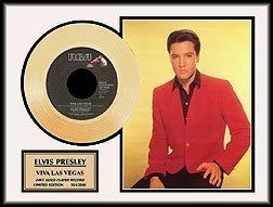 48: ELVIS PRESLEY ''Viva Las Vegas'' Gold LP