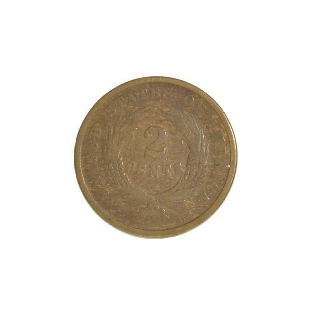 1864 Two-Cent Coin