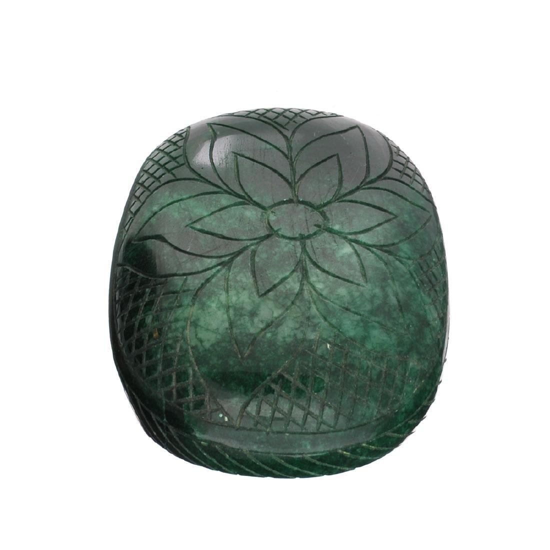 APP: 12.3k 2,459.00CT Oval Cut Carved Green Beryl