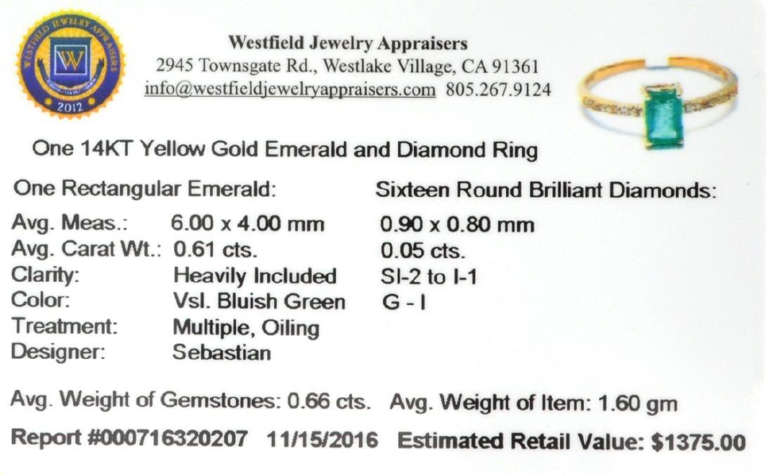 APP: 1.4k Fine Jewelry, Designer Sebastian 14KT Gold, - 2