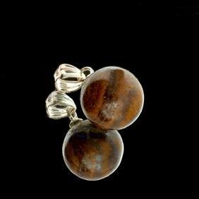 8.30CT Boulder Opal Sterling Silver Pendant