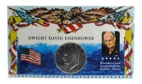 Dwight David Eisenhower Silver Dollar Coin