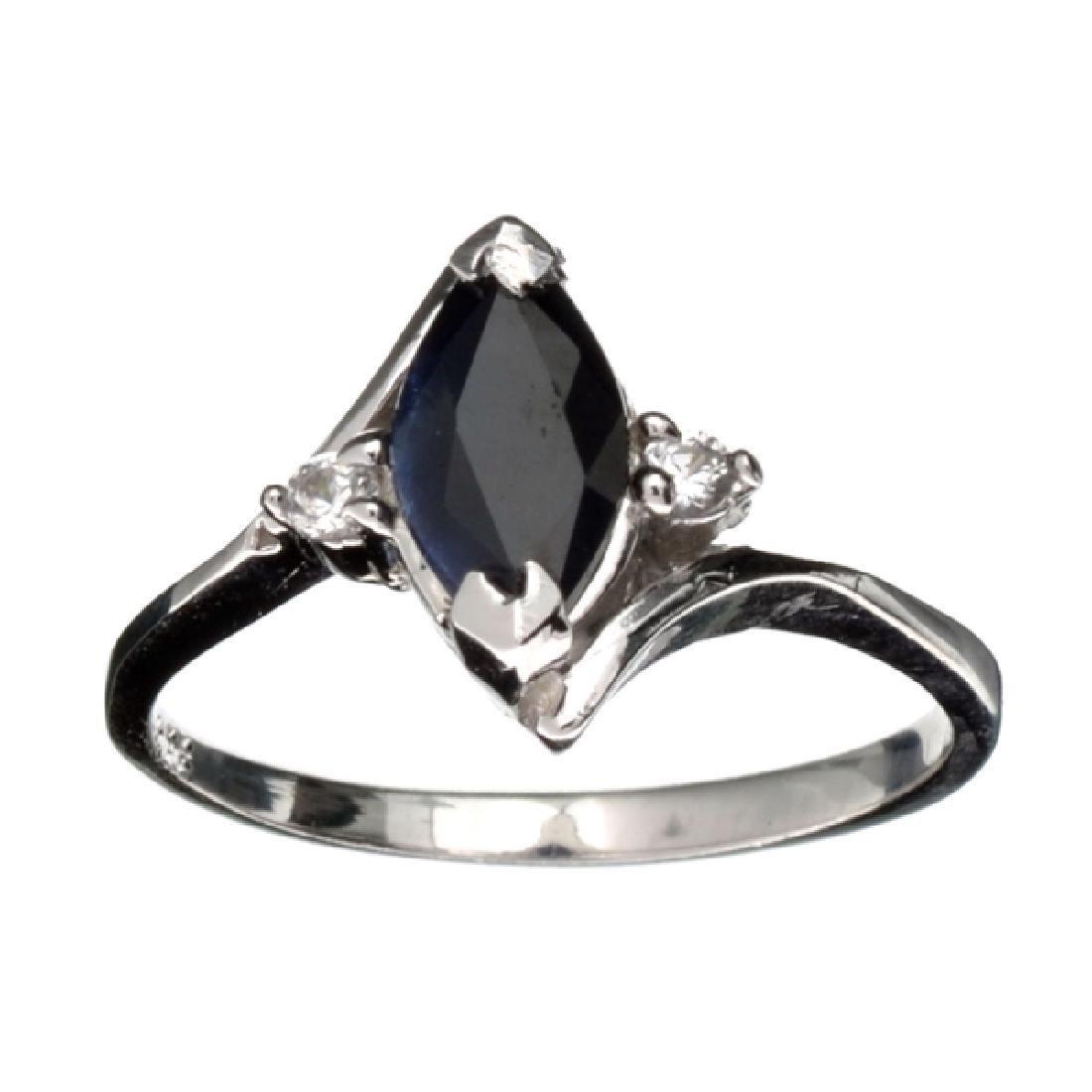 APP: 1.4k Fine Jewelry Designer Sebastian 1.00CT Blue