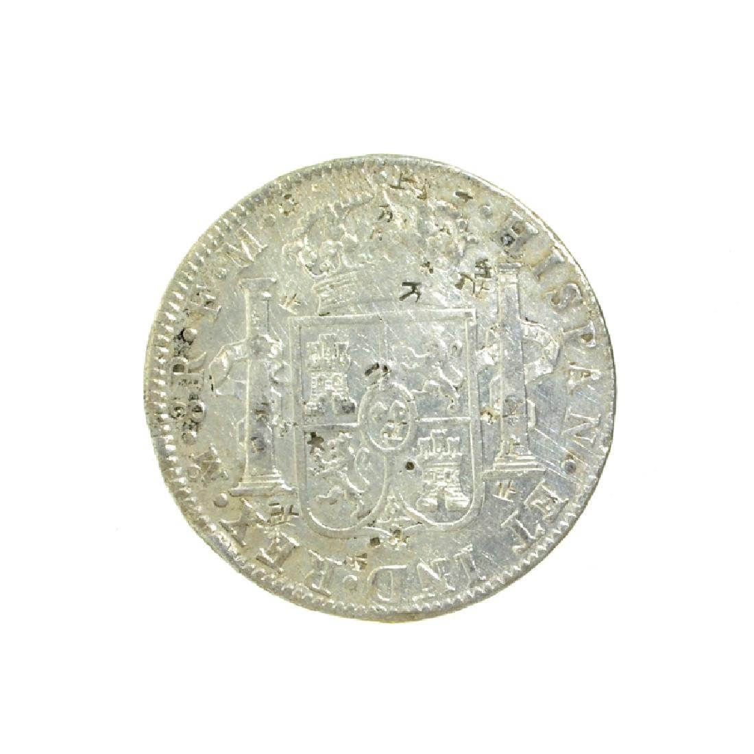 1788 Extremely Rare Eight Reales American First Silver - 2