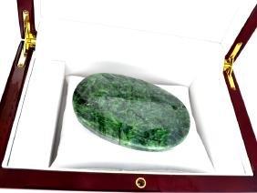 APP: 5k 990.60CT Oval Cut Green Beryl Emerald Gemstone